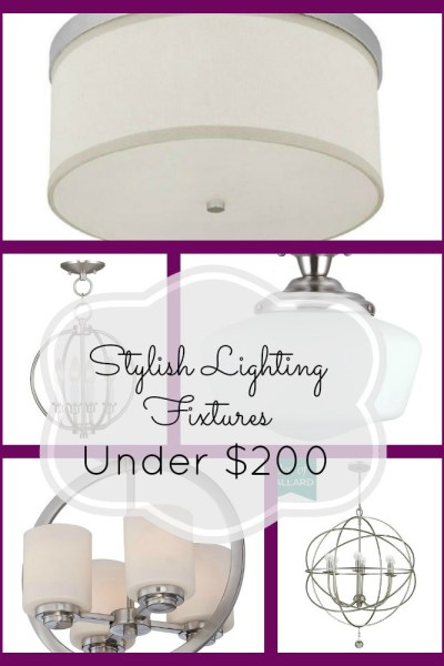 Frugal Friday: Lighting Choices under $200