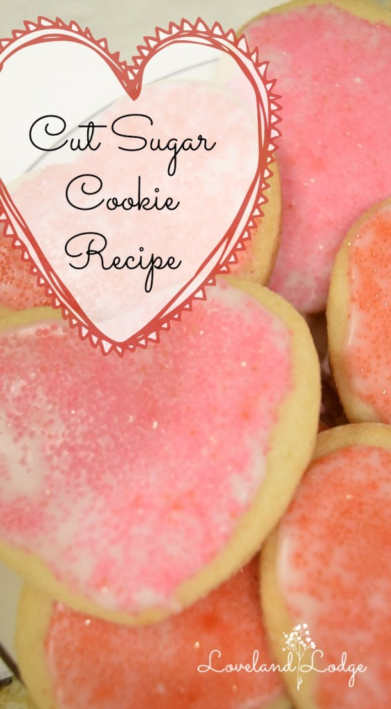 Recipe for cut sugar cookies