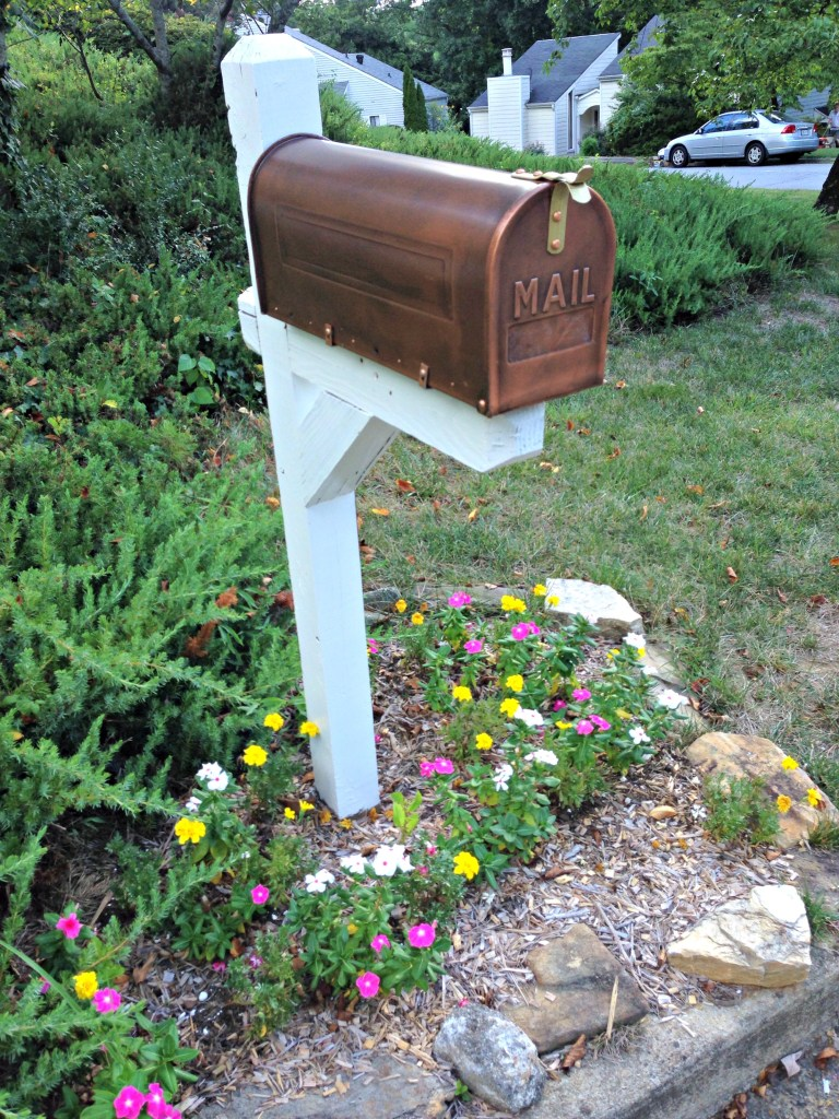 After: Mailbox Makeover