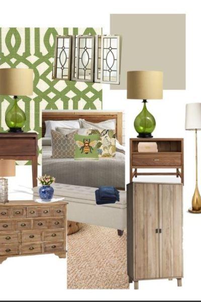 Mom's Master Bedroom: Design Boards
