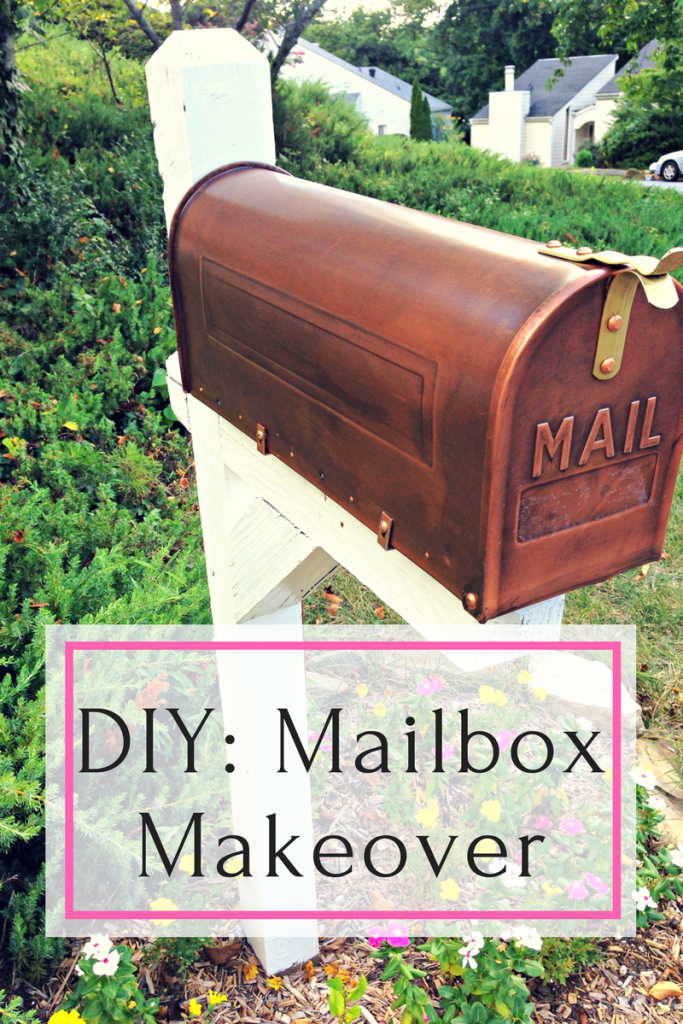 DIY mailbox makeover to add curb appeal