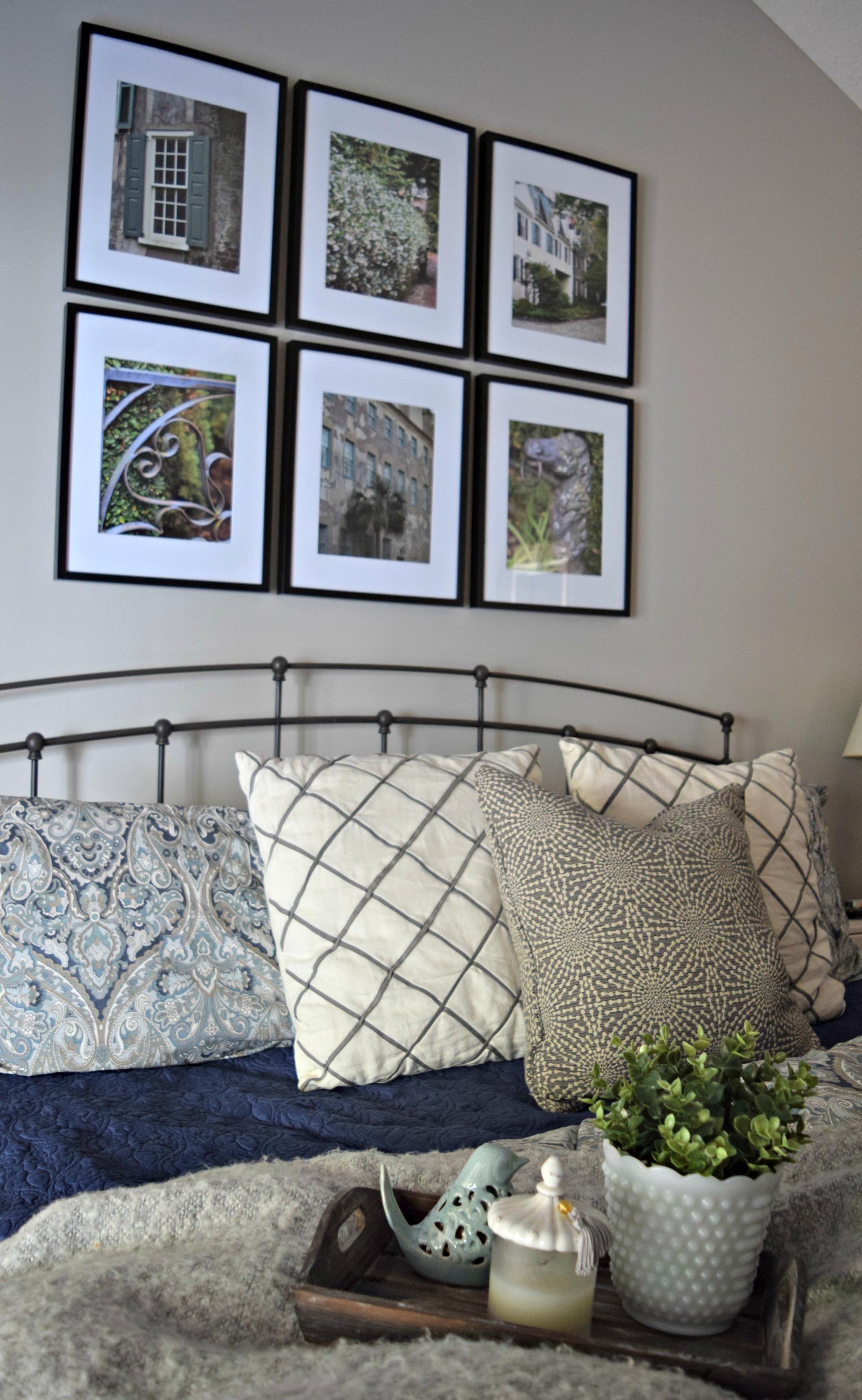 Master Bedroom Gallery Wall Loveland Lodge
