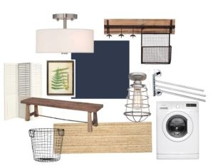 One Room Challenge: Laundry Room Planning