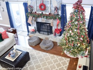 Christmas Home Tour 2016: Living Room