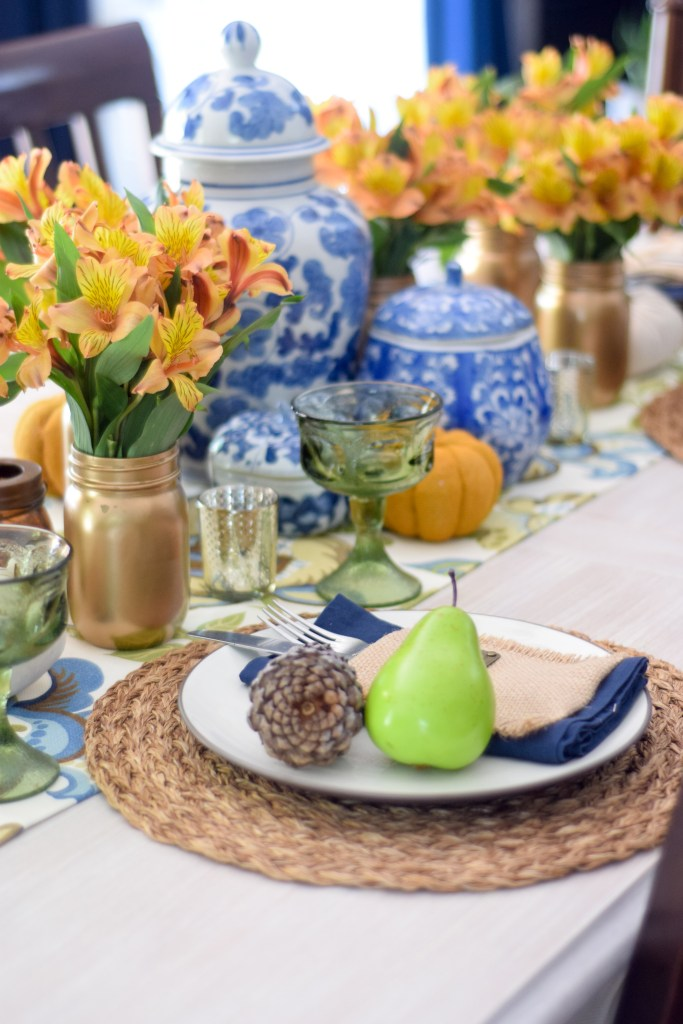 Fall floral tablescape ideas
