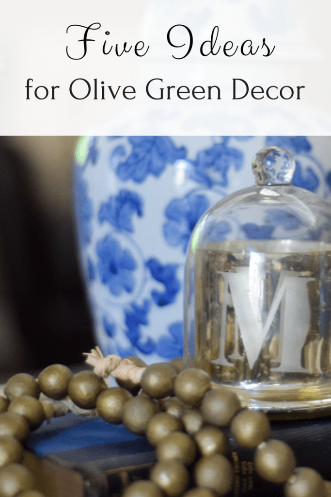Ideas for fall olive green decor
