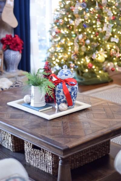 A Very Merry Living Room: Christmas 2017