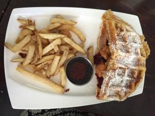 Fried Chicken -n- Waffle Monte Cristo
