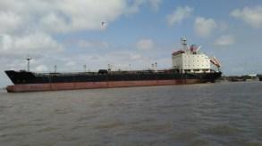 HUGE ship!