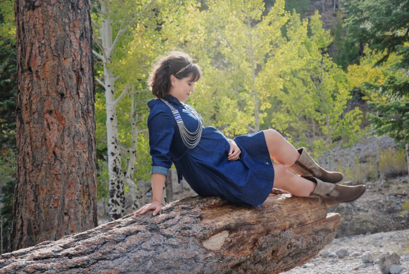 Mt Charleston Maternity Shoot