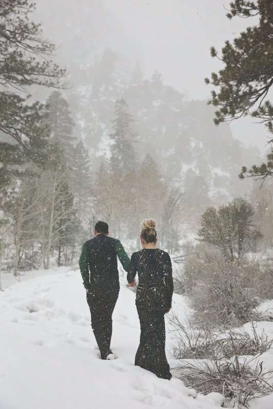 "Winter ""Elopement"" Styled Shoot"