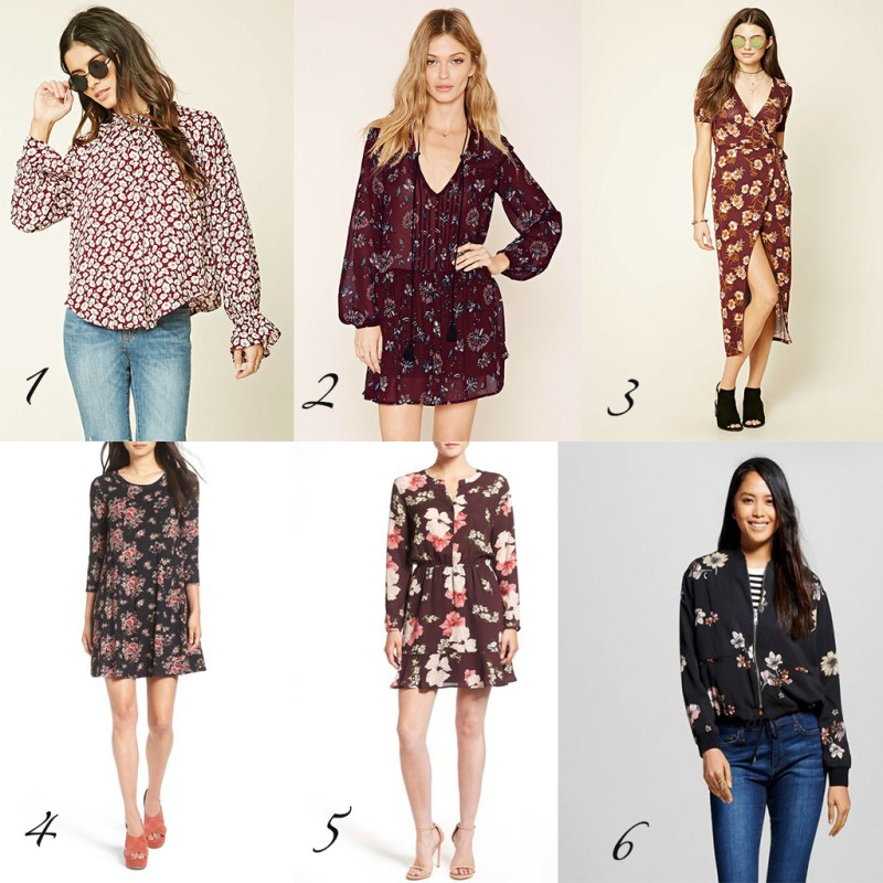 Sunday Styles – Fall Florals