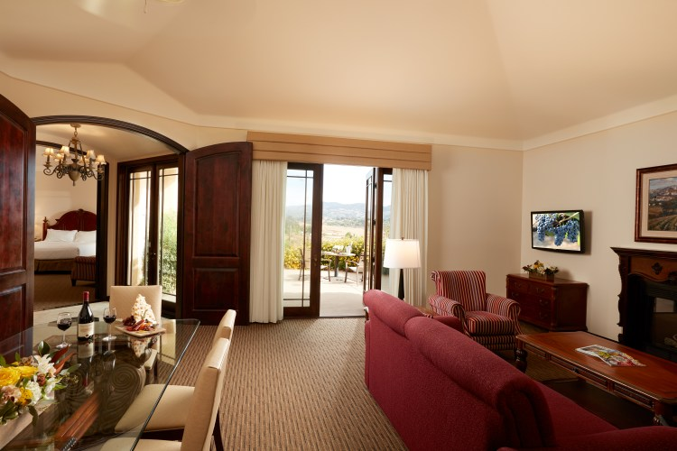 South Coast Winery_Villa_living room