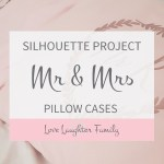 Silhouette Cameo Project Pillows