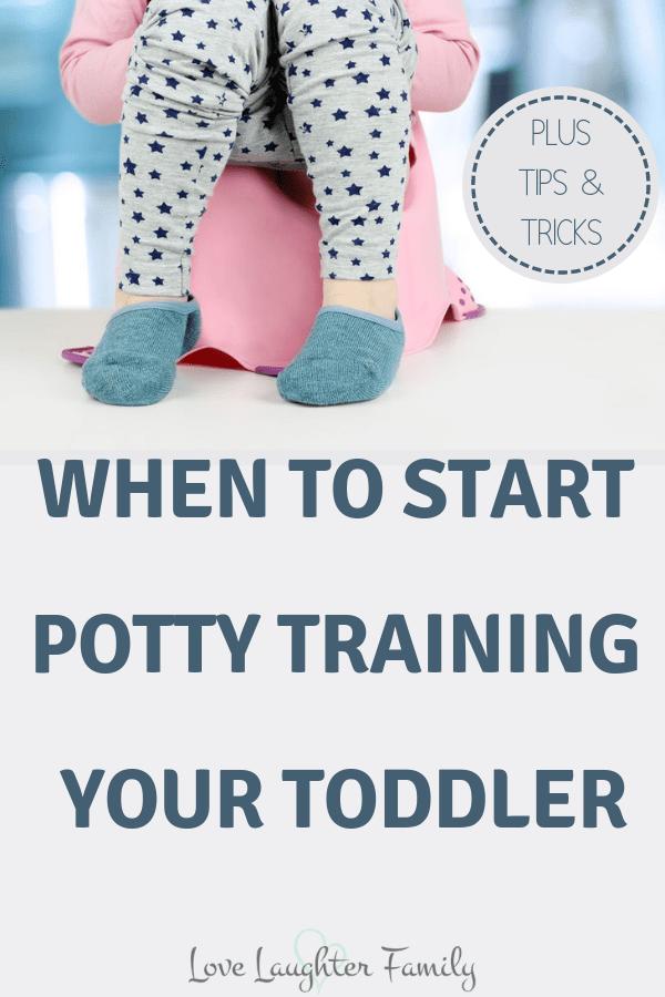 when to start potty training boys