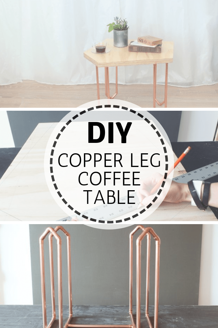 Build your very own copper legged coffee table, complete with plans here.