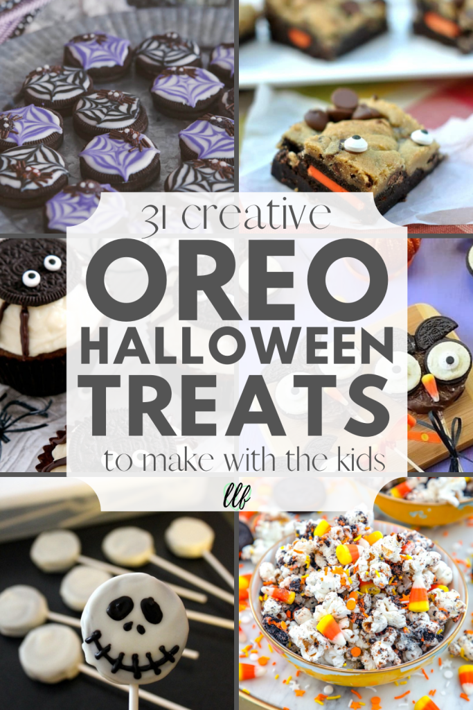 These creative Halloween Oreo Treats are fun and easy to make. The kids will love making them and eating them this Halloween.