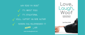 Love Laugh Woof book by Lynn Stacy-Smith