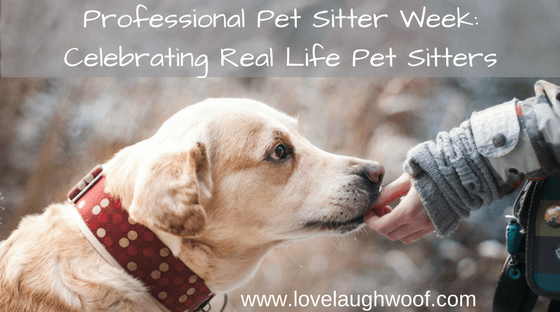 Professional Pet Sitter Week: Celebrating Real Life Pet Sitters