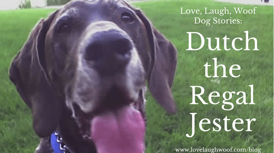 Love Laugh Woof Dog Stories: Dutch the Regal Jester