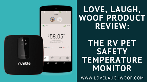 Love laugh woof product review the rv pet safety temperature monitor fandeluxe Image collections