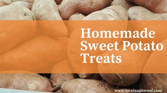 Homemade Sweet Potato Treats