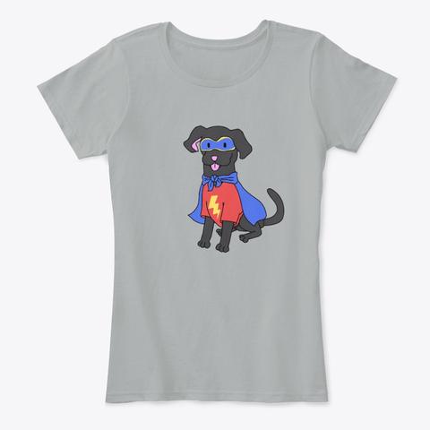 Superdog design Love Laugh Woof Merch