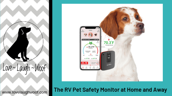 The RV Pet Safety Monitor at Home and Away