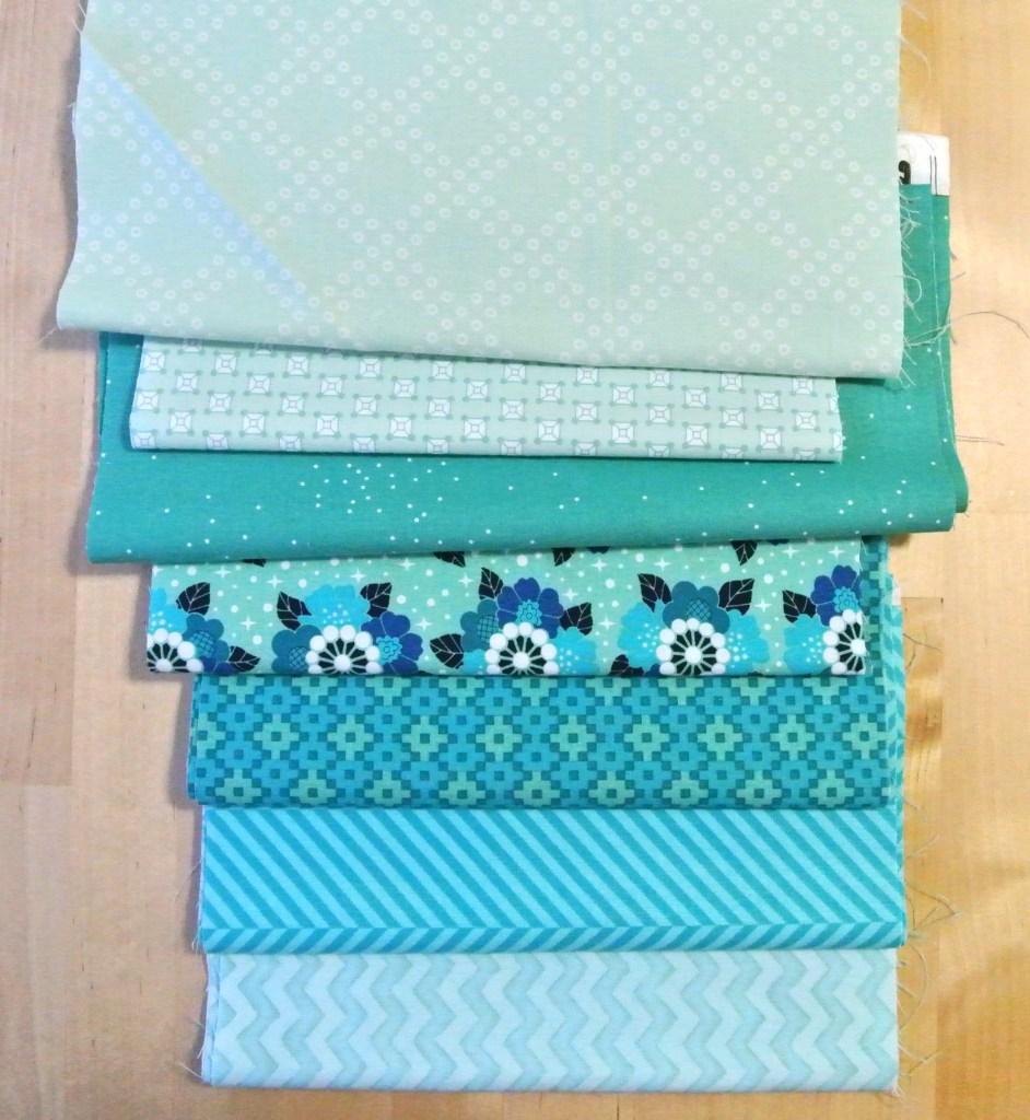 Teal Fabrics