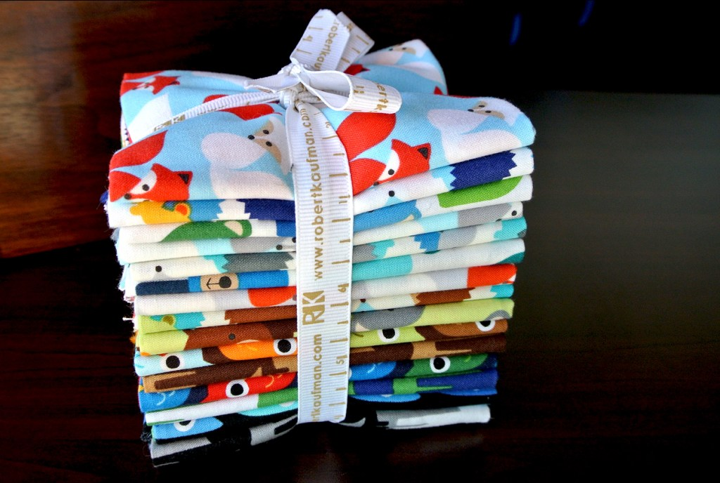 Woodland Pals Fat Quarter Bundle