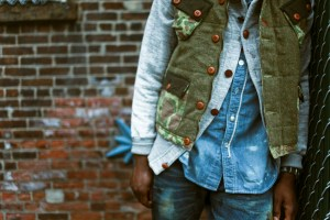 Camo and Tweed Vest by Strivers Row Photo: striversrowusa.com