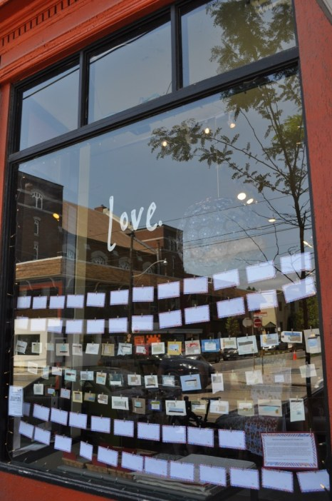 The Love Lettering Project, love, lindsay zier-vogel, envelope, the paper place, toronto