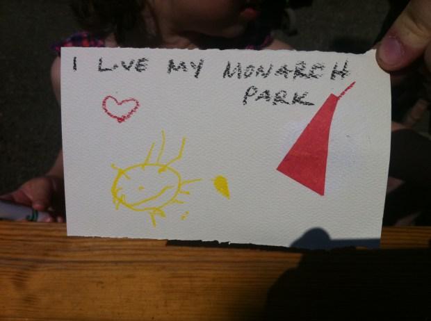 love, love lettering project, toronto, junction, junction flea, monarch park