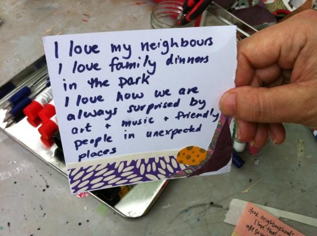 toronto, love lettering project, love, dufferin grove park