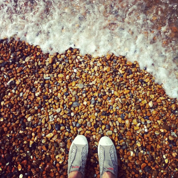 The Brighton seaside.