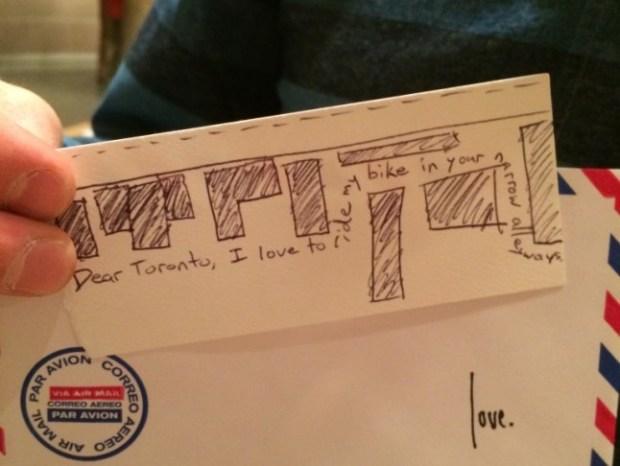 love lettering project, lindsay zier-vogel, jane's walk, toronto