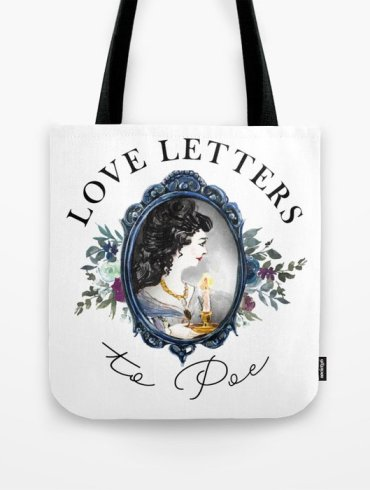 Love Letters to Poe Tote Bag