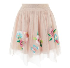 Jupe en tulle brodée, 440 dhs, Monsoon