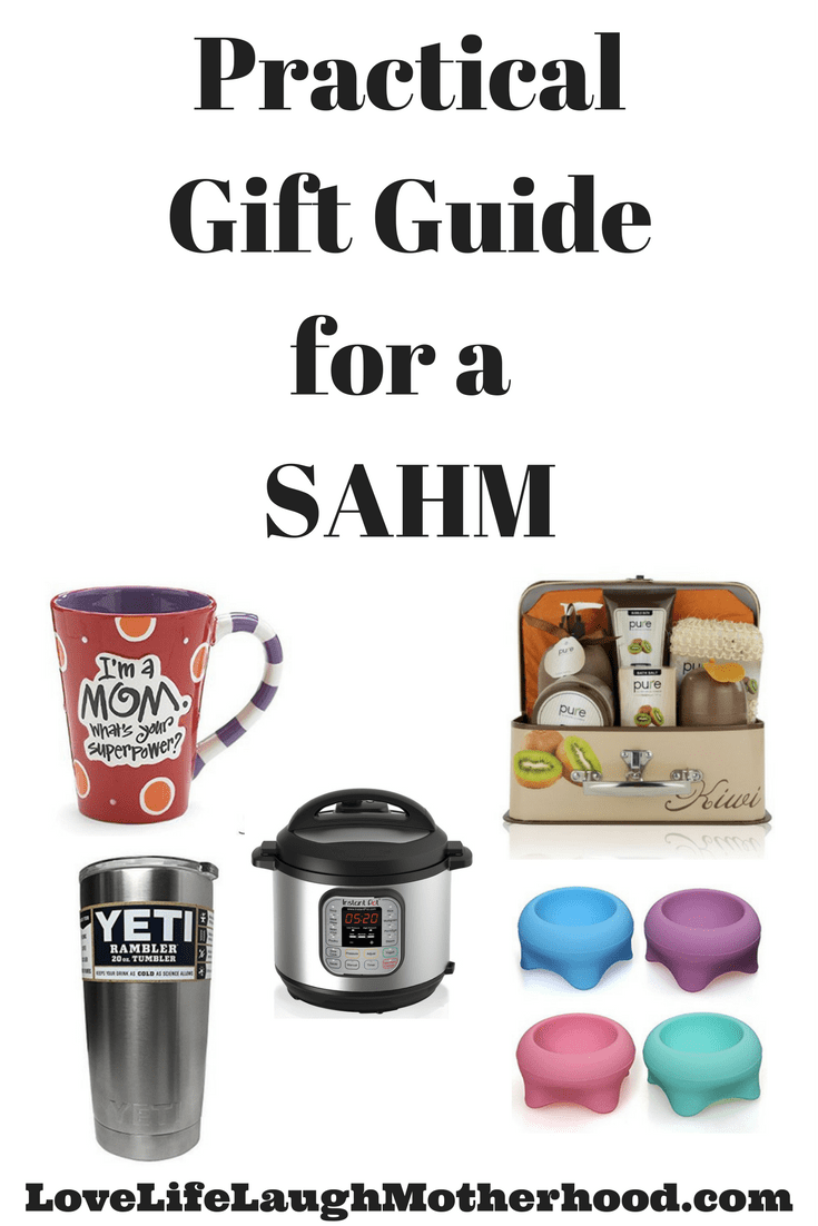 Practical Gift Guide for a Stay At Home Mom #sahm #giftguide