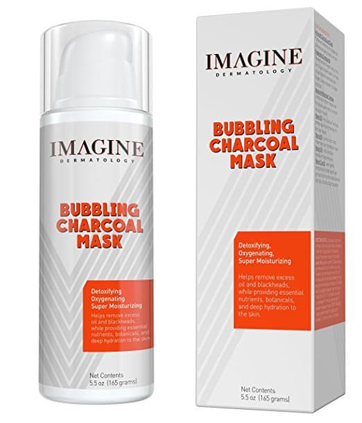Bubbling Charcoal Mask by Imagine Dermatology Review