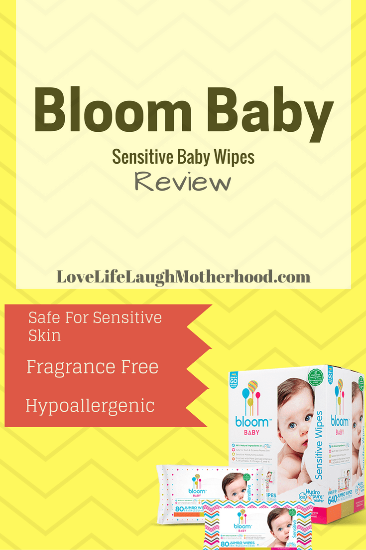 Bloom Baby Sensitive Baby Wipes #bloomtogether