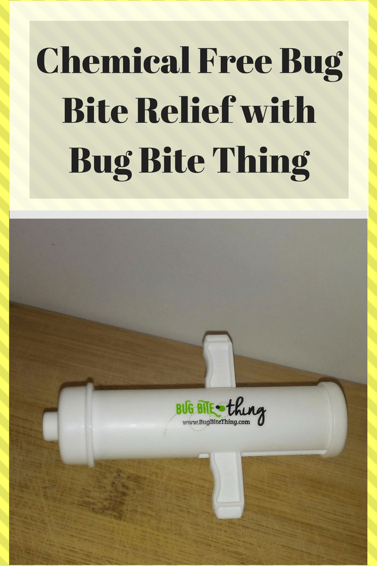 Chemical Free Bug Bite Relief with the Bug Bite Thing