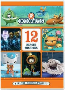 Octonauts 12 Rescue Missions DVD Review & Giveaway