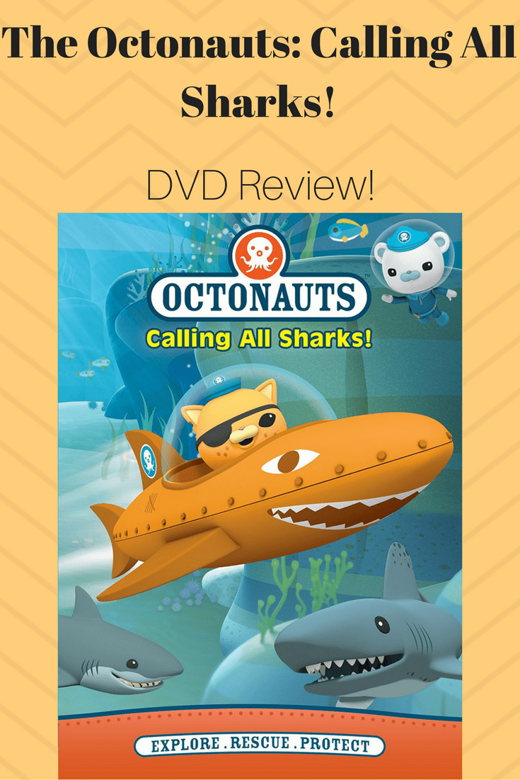 The Octonauts: Calling All Sharks! DVD Review