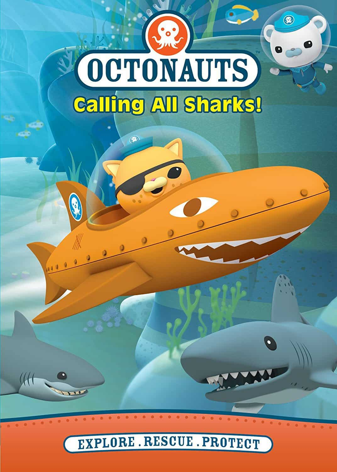 The Octonauts: Calling All Sharks! DVD Review & Giveaway