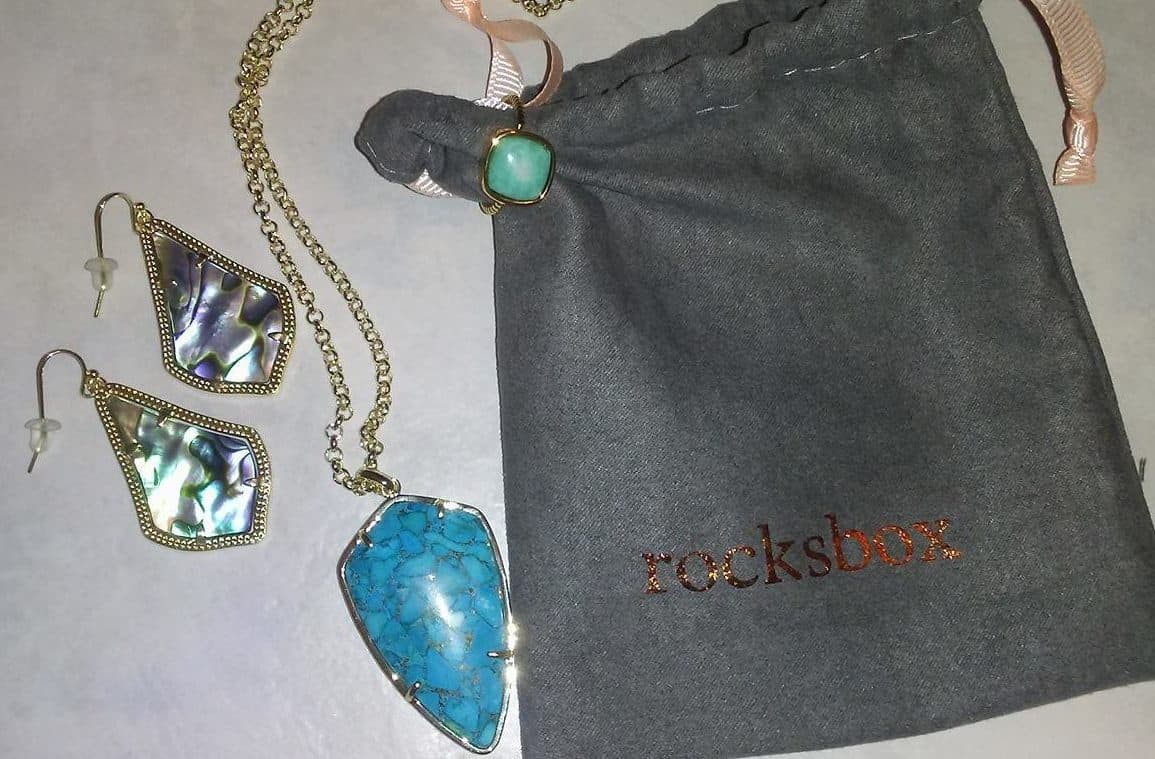 My First Rocksbox Jewelry Set! Get your own, first month FREE, by entering the code jasminehewitt51xoxo at http://rocksbox.evyy.net/c/409602/286651/4511