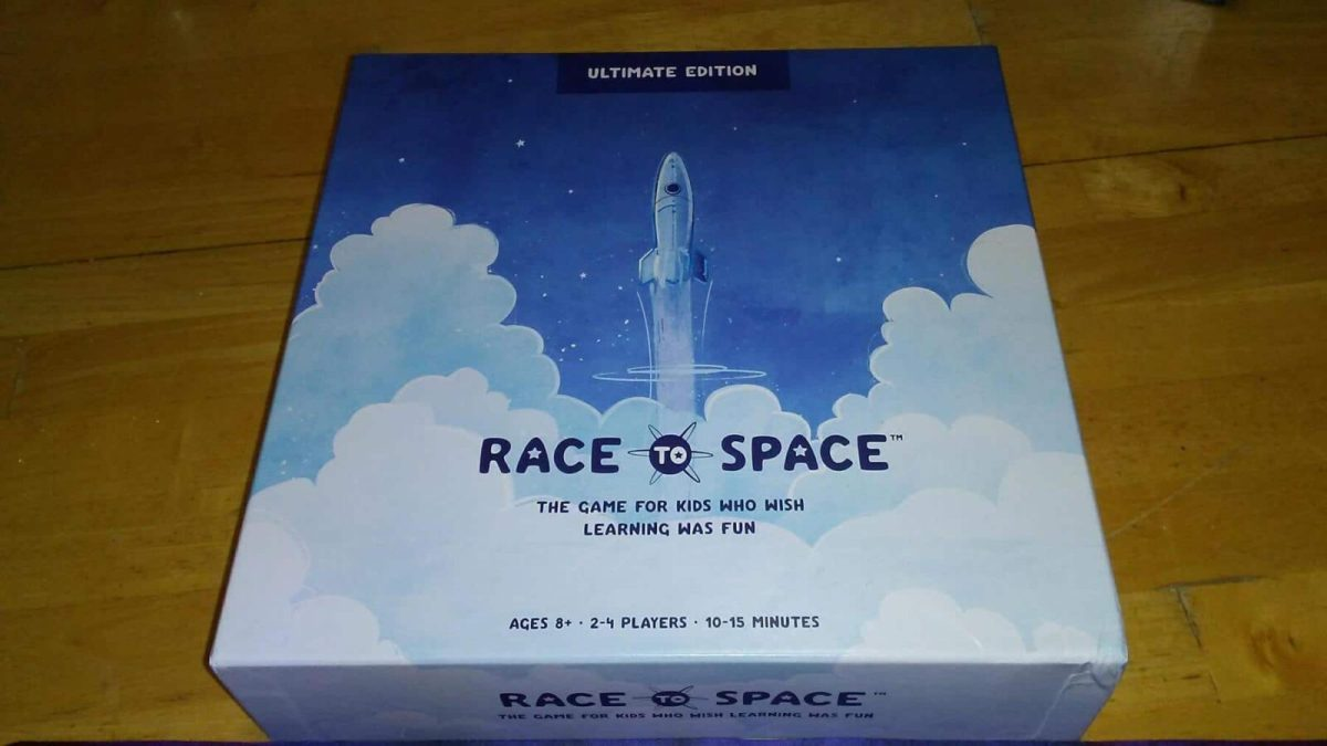 Educational Board Game Race To Space Makes Learning Fun!