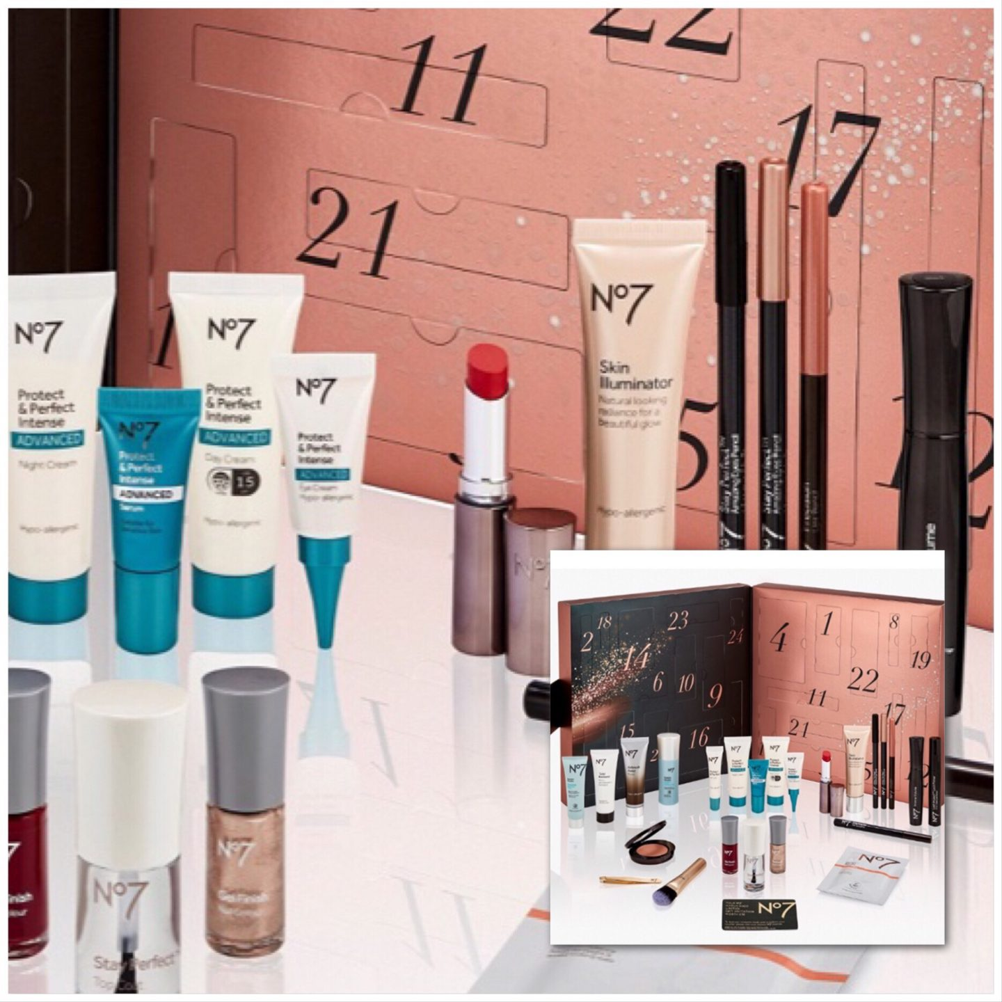 No 7, My Top 5 Beauty Advent Calendars - Christmas 2018
