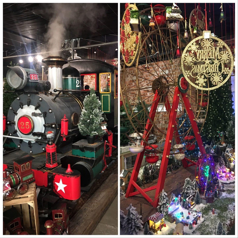 Choosing Your Christmas Colours-steam train