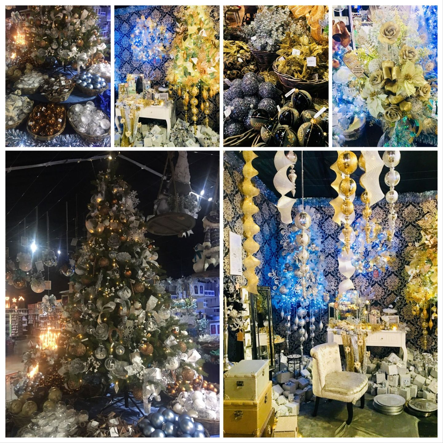 Choosing Your Christmas Colours-Gold & Silver To Shine Christmas